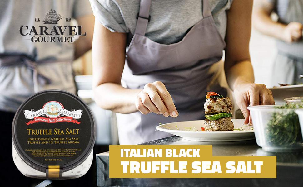sea salt superstore italian black truffle sea salt