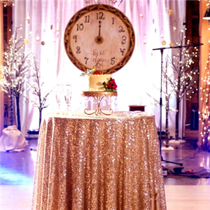 sequin table cover
