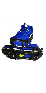 shoe snow traction grip