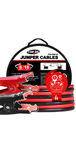jumper cables heavy duty booster