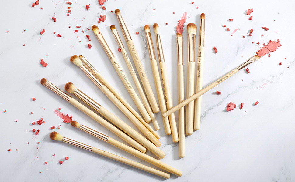 Jessup Bamboo makeup brushes