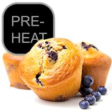 pre-heat function nuwave brio airfryer bake