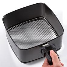 nuwave brio 3qt patented fry pan basket