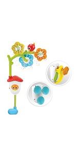 yookidoo baby bath bathtub toy tub kid child play girl boy toddler preschool infant newborn mobile