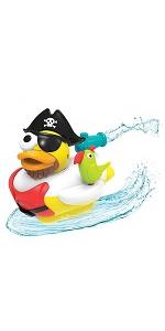 Pirate yookidoo baby bath bathtub toy tub kid child play girl boy toddler preschool infant newborn
