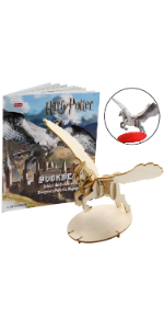 Incredibuilds Harry Potter book wood model figure build kit hobby craft gift toy merchandise hobby
