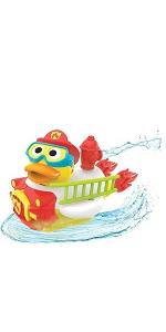 firefighter yookidoo baby bath bathtub toy tub kid child play girl boy toddler preschool infant