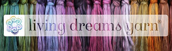 living dreams yarn fiber boutique artisan pacific northwest handmade hand dyed sustainable unique