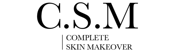 csm complete skin makeover C.S.M. organic skincare skin care natural face anti aging health beauty
