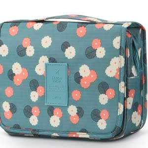 Carry Case Toiletry Bag with Hanging Hook