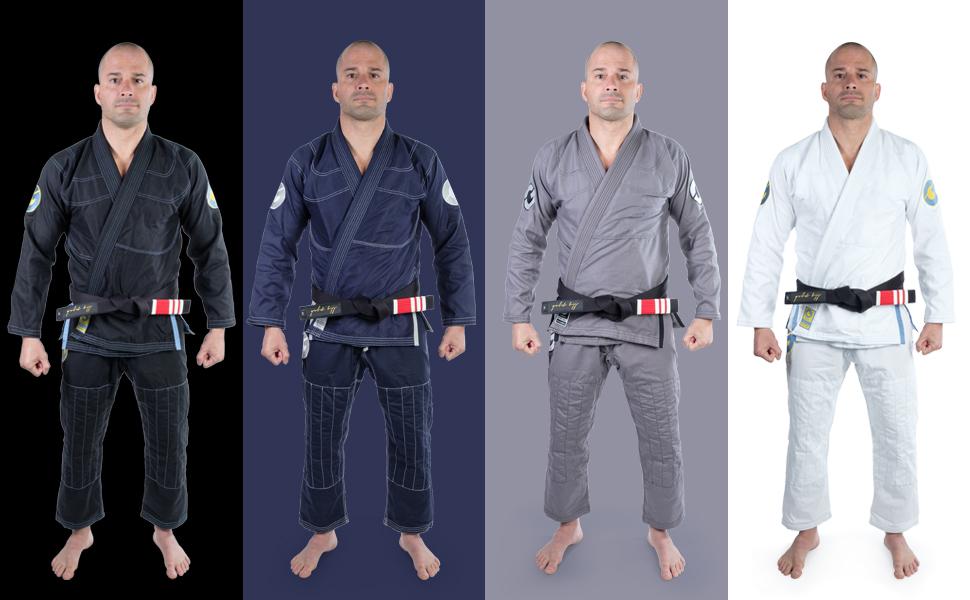 gold bjj Brazilian jiu jitsu uniform kimono gi Aeroweave super light and strong grappling rolling