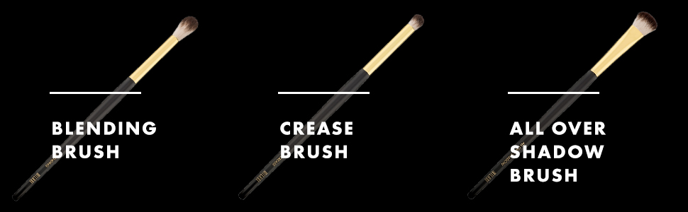 Milani Blending Brush, Crease, Brush, All-Over Shadow Brush