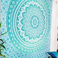 Green Ombre Wall Hanging
