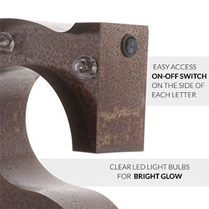 on-off switch for marquee letter