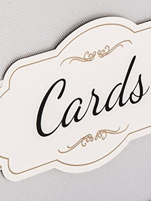 silver decorated gift box label