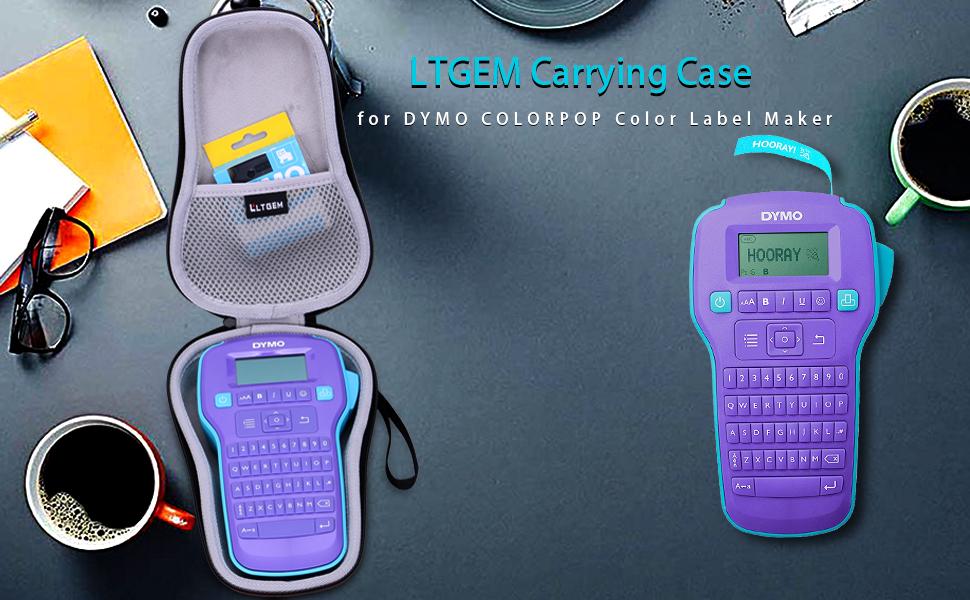 LTGEM EVA Hard Case for DYMO COLORPOP Color Label Maker