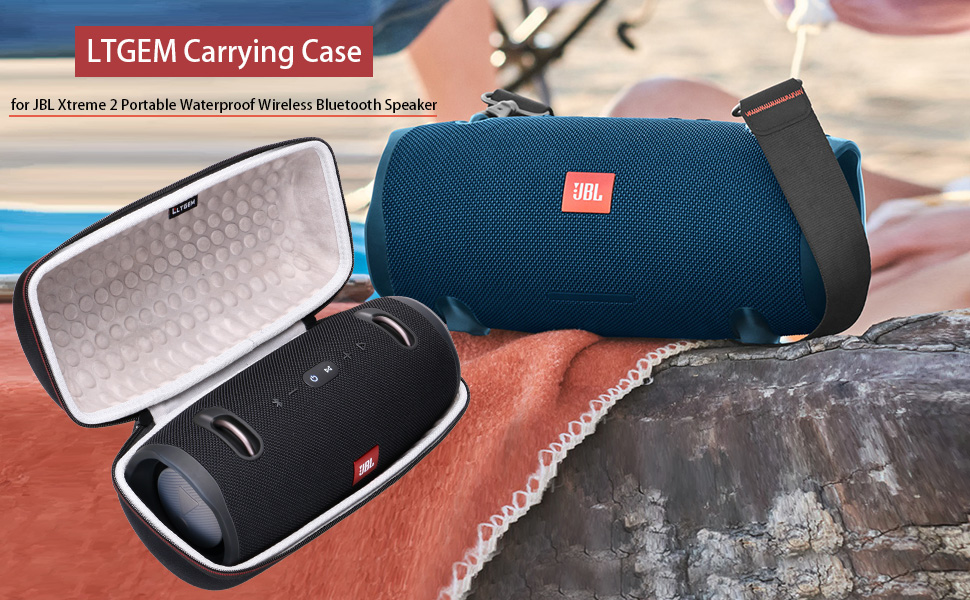 LTGEM EVA Hard Case for JBL Xtreme 2 Portable Waterproof Wireless Bluetooth Speaker