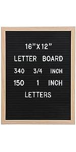Vagski 12 X 16 letter board