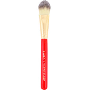 Red Luxurious Foundation Brush