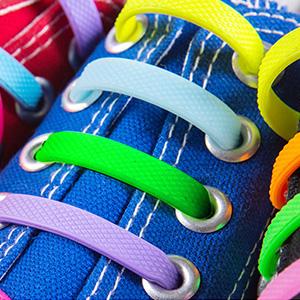 No tie shoe laces for kinds