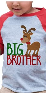 big brother pregnancy announcement christmas shirt