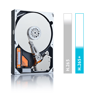 H.265+ H.264 H.265 Recording hard drive security grade hard drive surveillance grade hard drive