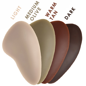 Hip Pad Color Chart