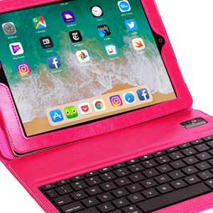 Multi Functional iPad Case ABS Quality Rechargeable Standard Quick Response Fast Typing Keyboard