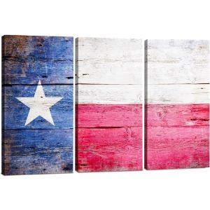 Large Texas Flag Wall Art