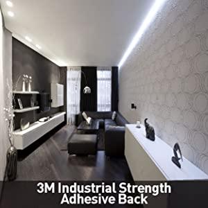 12V IP54 LED Strip Light 3M Adhesive back