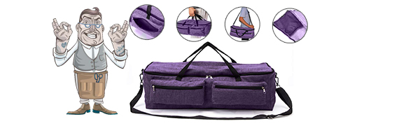 Professional Craft Machine Cricut Carrying Case Tote Bag