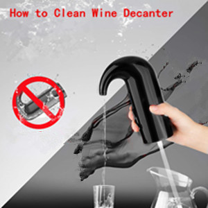 Instant 1-Button Electric Aeration and Decanter Wine Pourers, Portable