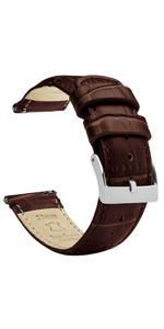 Alligator Leather Quick Release