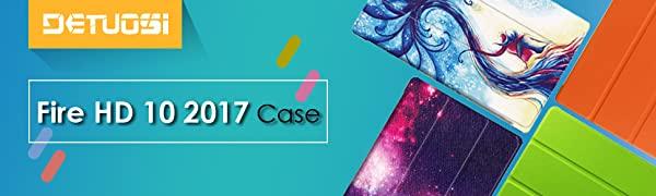 DETUOSI Fire HD 10 2017 Case