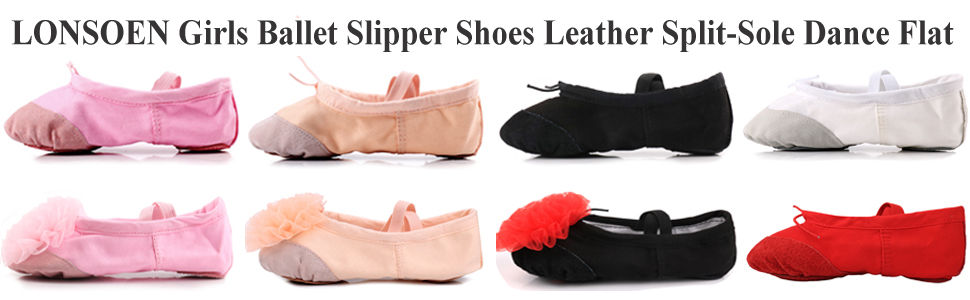 ballerina slippers for girls