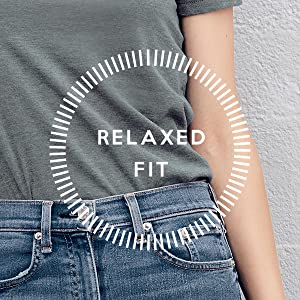ThreadTank Relaxed Fit Crew T-Shirt Tee