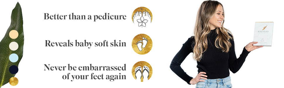 FootGod Exfoliating Foot Peel Benefits