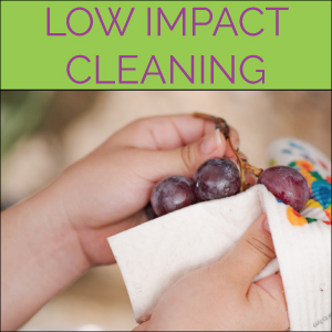 LOW IMPACT CLEANING