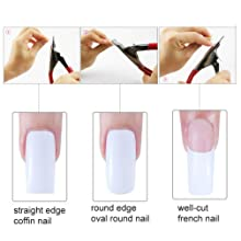 gel artificial nail kit acrylic nail repair kit nail tips cutter