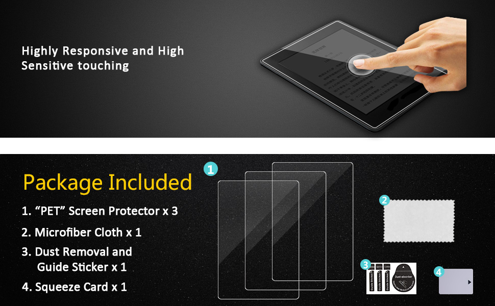 High Sensitivity and Easy to Install with installation kit
