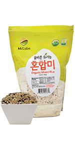 McCabe Organic Mixed Rice, 3-Pound