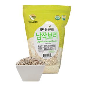 McCabe Organic Pressed Barley, 3-Pound