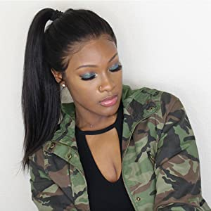 pre plucked yaki 360 lace frontal wigs brazilian virgin human hair wigs for women with baby hair
