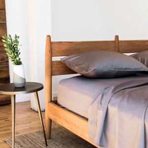 Bokser Home Sateen Bed Sheet Sets