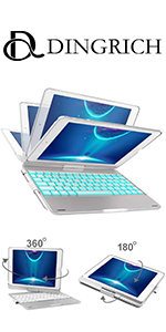 360 Degree Rotation keyboard case for ipad air 1