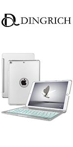 iPad 9.7 Keyboard Case for iPad 2018