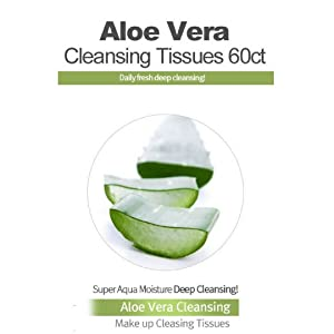 Aloe Vera Cleansing makeup wipes