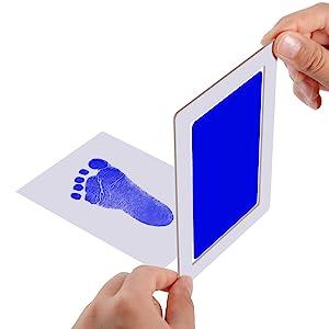 Inkless handprint footprint kit