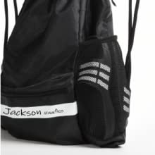 Athletico Drawstring Soccer Bag - Double  large mesh side pockets for shoes or water bottles