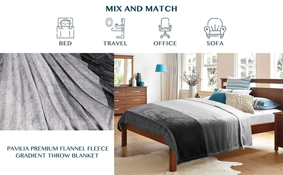 throw blanket for home bed sofa couch travel sofa office